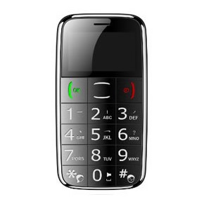 Big Button Easy Mobile – Black