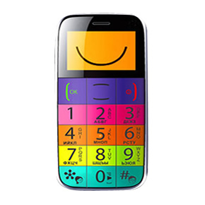 Big Button Easy Mobile – Multicolour