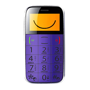 Big Button Easy Mobile – Purple